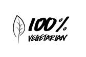 100 % Vegetarian